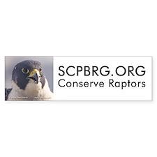 "SCPBRG.ORG (version 2) bumper sticker 10""x3"""