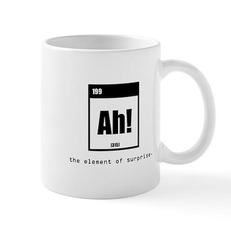 element of surprise Mug