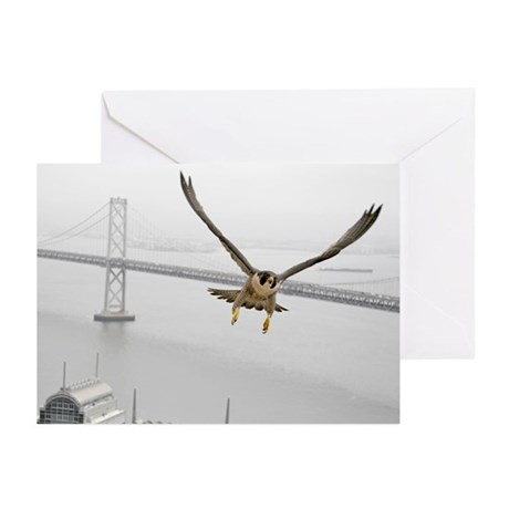"""""""Gracie with Bridge 2"""" Greeting Cards (Pk of 10)"""