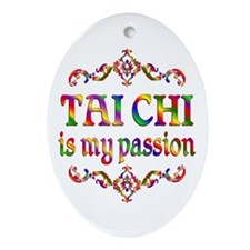 Tai Chi Passion Ornament (Oval)