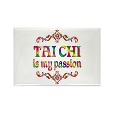 Tai Chi Passion Rectangle Magnet (10 pack)