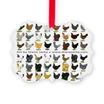 48 Hens Promo Picture Ornament