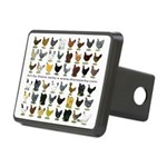 48 Hens Promo Rectangular Hitch Cover