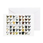 48 Hens Promo Greeting Cards (Pk of 20)
