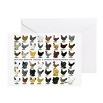 48 Hens Promo Greeting Card
