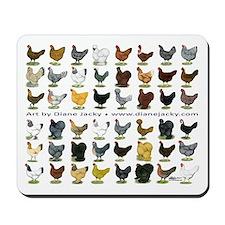 48 Hens Promo Mousepad