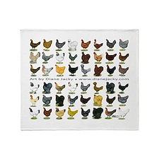 48 Hens Promo Throw Blanket