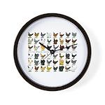 48 Hens Promo Wall Clock
