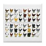 48 Hens Promo Tile Coaster
