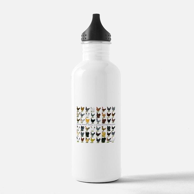 48 Hens Promo Water Bottle