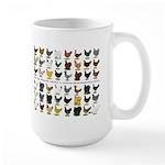 48 Hens Promo Large Mug