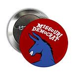 Missouri Democrat Political Button