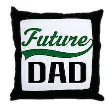 Future Dad Gift Throw Pillow