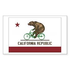 California Beach Cruiser Bear Decal
