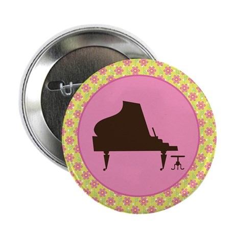 "Piano Music Award Gift 2.25"" Button"