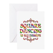 Square Dancing Passion Greeting Cards (Pk of 20)