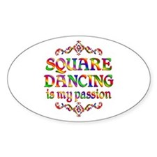 Square Dancing Passion Decal