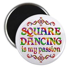 Square Dancing Passion Magnet