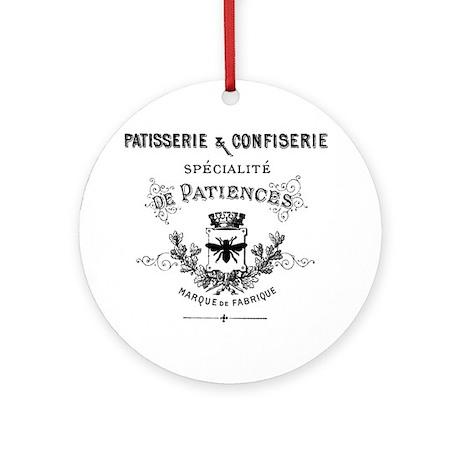Patisserie Ornament (Round)