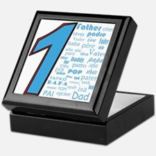 #1 Father / Keepsake Box