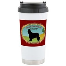 Briard Travel Coffee Mug
