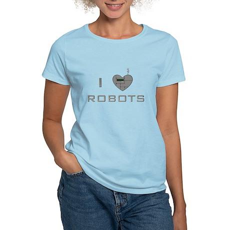 I heart Robots Women's Light T-Shirt
