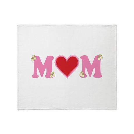 Mom Love Throw Blanket
