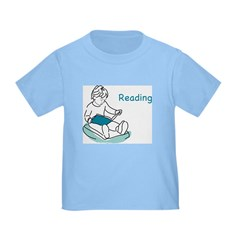 Child Reading Toddler T-Shirt