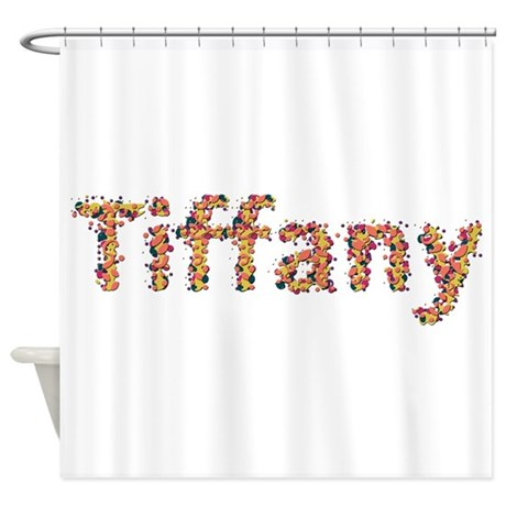 Tiffany Fiesta Shower Curtain