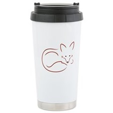 Vulpes Vulpes Travel Coffee Mug