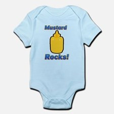 Mustard Rocks Infant Bodysuit