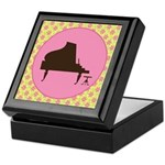 Piano Music Award Gift Keepsake Box