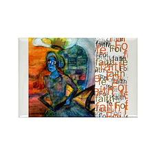Foi Faith Fe, Rectangle Magnet (10 pack)