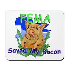 Saved My Bacon - Mousepad