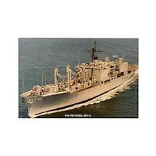 USS SYLVANIA Rectangle Magnet