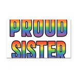PROUD-SISTER_TR.png Rectangle Car Magnet
