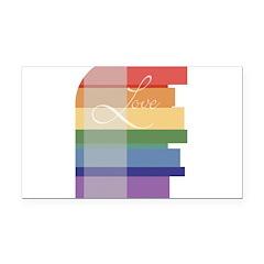 gay_wedding_mod.jpg Rectangle Car Magnet