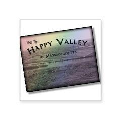 happyvalleyc.jpg Square Sticker 3