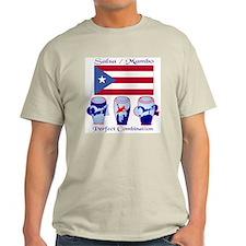 LimEd P.R. large Flag Ash Grey T-Shirt