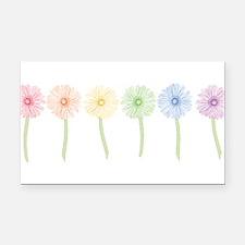 rainbow-gerbera-row_tr.png Rectangle Car Magnet