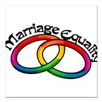 marriage-equality_tr.png Square Car Magnet 3
