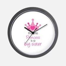 This little princess Wall Clock