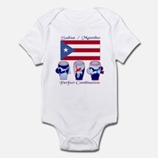 LimEd P.R. large Flag Infant Creeper