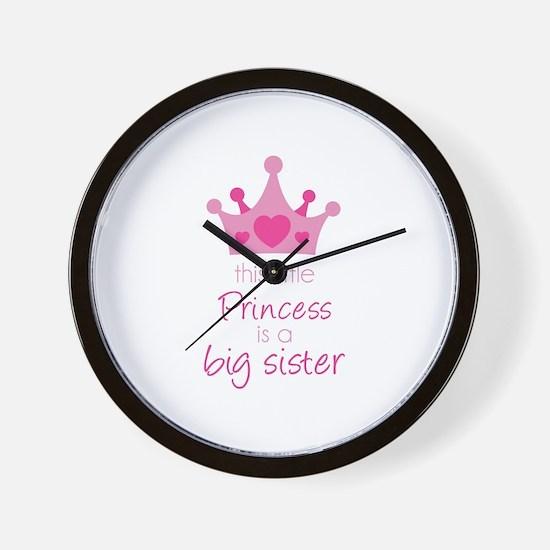 This little princess Wall Clock