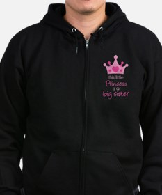 This little princess Zip Hoodie (dark)
