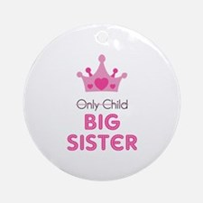 Big sister Ornament (Round)