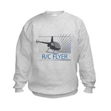 Radio Control Flyer Helicopter Sweatshirt