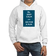 Keep Calm and Go For a Run Hoodie