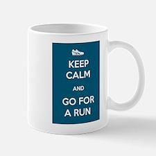 Keep Calm and Go For a Run Mug