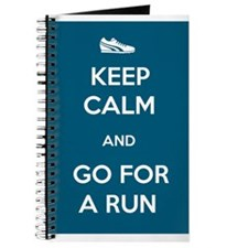 Keep Calm and Go For a Run Journal